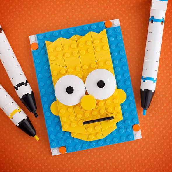 LEGO Brick Sketches   PICAME