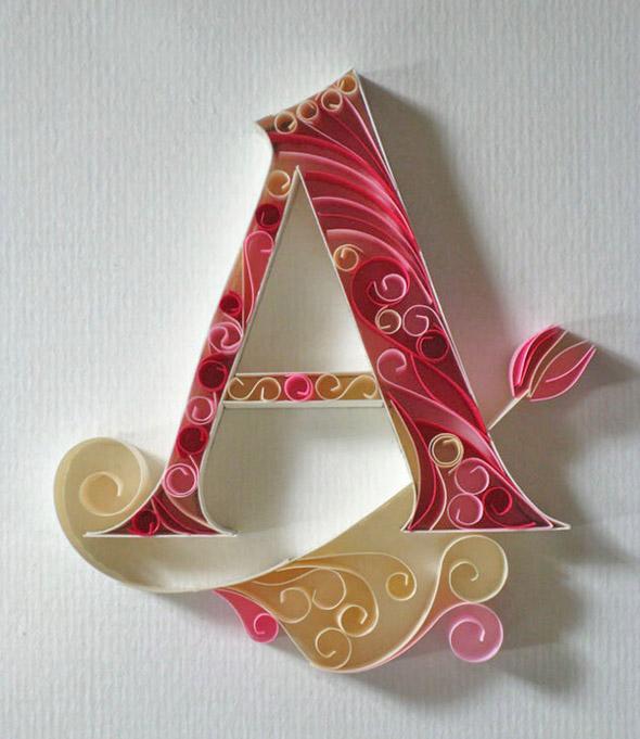 Красивые буквы сделанные своими руками 944