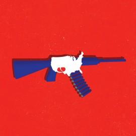 31Bullets: l'illustrazione al servizio di una campagna contro la violenza armata negli USA