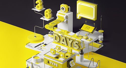 Intervista esclusiva ai creatori di 36 Days Of Type