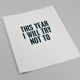 New Years Resolutions for Designers
