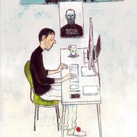 "I ""tipi da scrivania"" di Dmitry Narozhny"