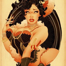 Pin Up Girls by Oneq