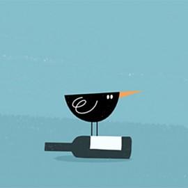 Merli dispettosi e altre divertenti animazioni di Giulia Martinelli