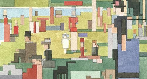 Il pixel-impressionismo di Adam Lister