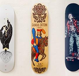 Sketch your deck: disegna e vinci il tuo skate