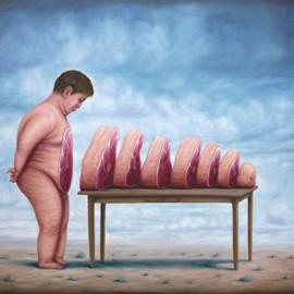 Il mondo alla rovescia nei dipinti di Bruno Pontiroli