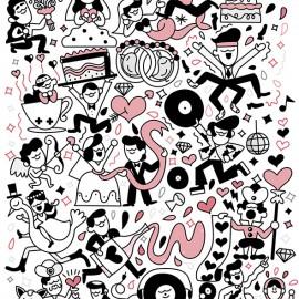 Le illustrazioni ad alto contenuto di caffeina di Daniele Morganti