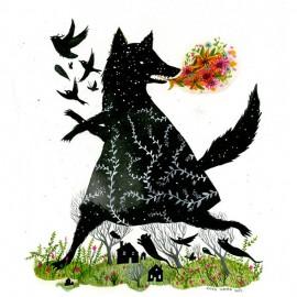 Le illustrazioni folk di Diana Sudyka