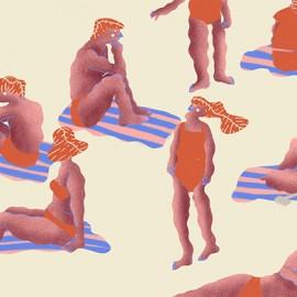 Sciogliersi al sole in compagnia delle illustrazioni di Elena De Santi