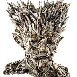 Arte del riciclo: le sculture di legno di Eyevan Tumbleweed