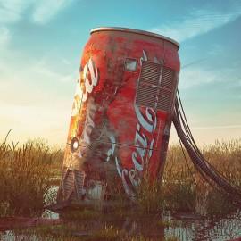 """""""Pop Culture Dystopia"""": le icone pop diventano rovine in un futuro post-apocalittico"""