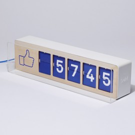 Real Facebook Like Counter