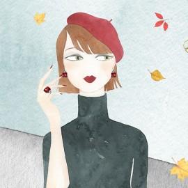 Gli acquerelli fashion di Giorgia Bressan