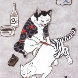 I gatti tatuati di Horitomo