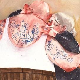 Ilaria Urbinati: raccontare le emozioni con l'acquerello