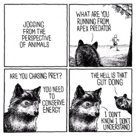 Umorismo nero in 4 vignette: Jake Likes Onions