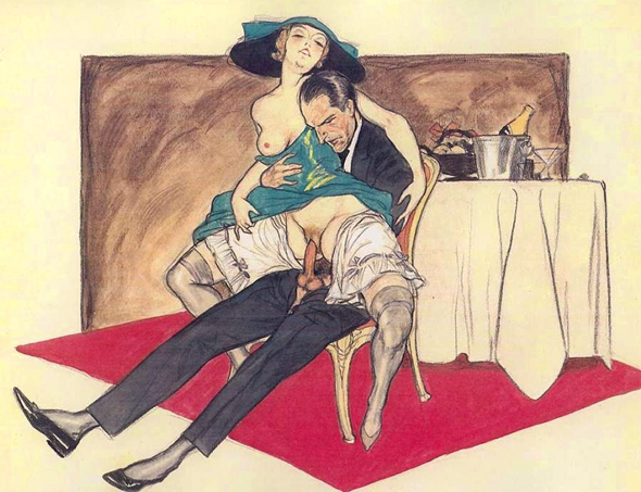 Marcello Dudovich - Il tappeto rosso