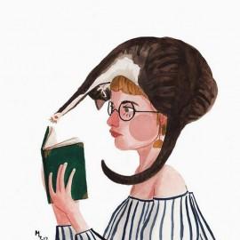 100 giorni di pettinature pazze: Maggie Cole