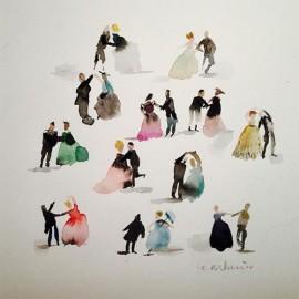 Gocce di magia: gli acquerelli di Maria Carluccio