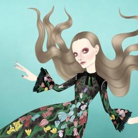 L'estasi dark nelle illustrazioni di Maria Veronica