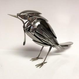 Matt Wilson e i suoi sorprendenti animali metallici fatti con materiali di scarto