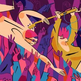 Illustrazioni come canzoni: Michele Bruttomesso