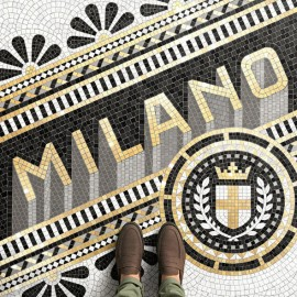 Fauxsaics: gli spettacolari mosaici tipografici di Nick Misani