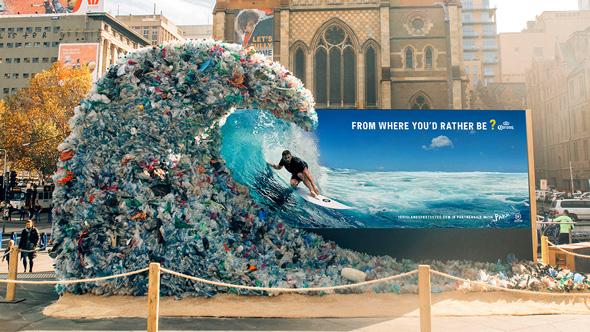 oceani plastica picame corona ocean wave