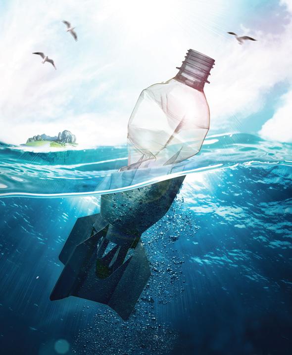 oceani plastica picame wwf plastic bottle bomb