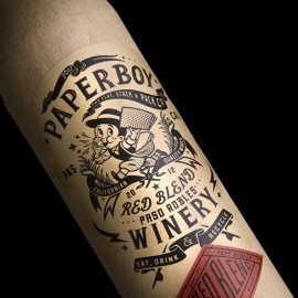 Paperboy Wine Bottle