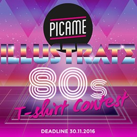 Illustrate 80s: il contest di PICAME e Teeser