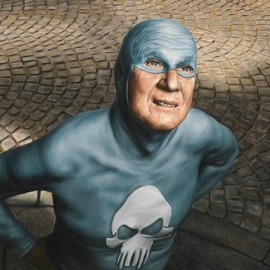 Portraits of an Elderly Superhero