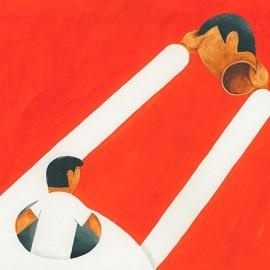 Geometria e colore: le illustrazioni dipinte a mano di Roberts Rūrāns