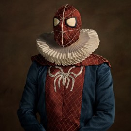 I supereroi vintage di Sacha Goldberger