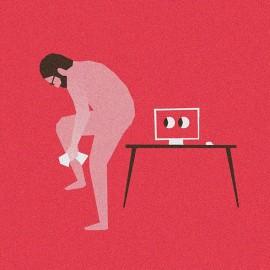 L'ironia minimalista nei collage digitali di Sebastian König