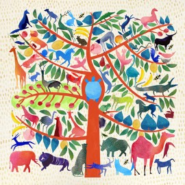 Slavka Kolesar e l'albero della vita