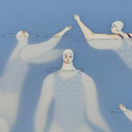 Le affascinanti illustrazioni acquatiche di Sonia Alins