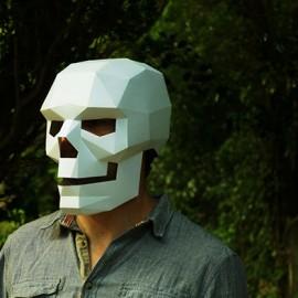 Le maschere 3D di Steve Wintercroft