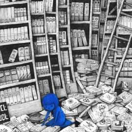 La struggente storia della ragazza blu