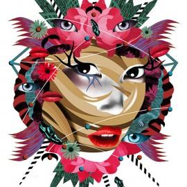 I sogni di Valentina Brostean tra dipinti e collage