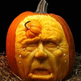 25 incredibili zucche-scultura di Halloween: Villafane Studios