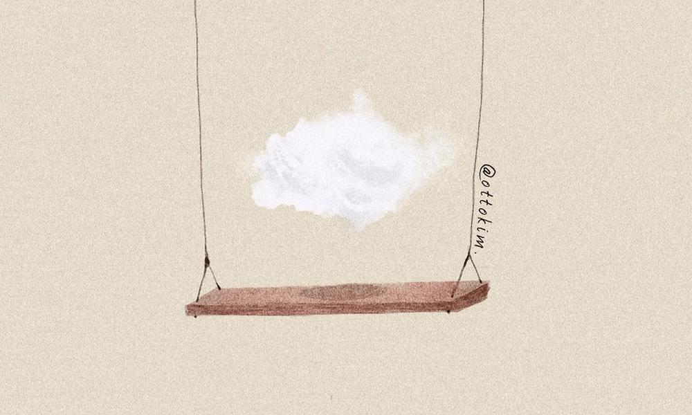 I sentimenti a tinte pastello nelle illustrazioni di Otto Kim