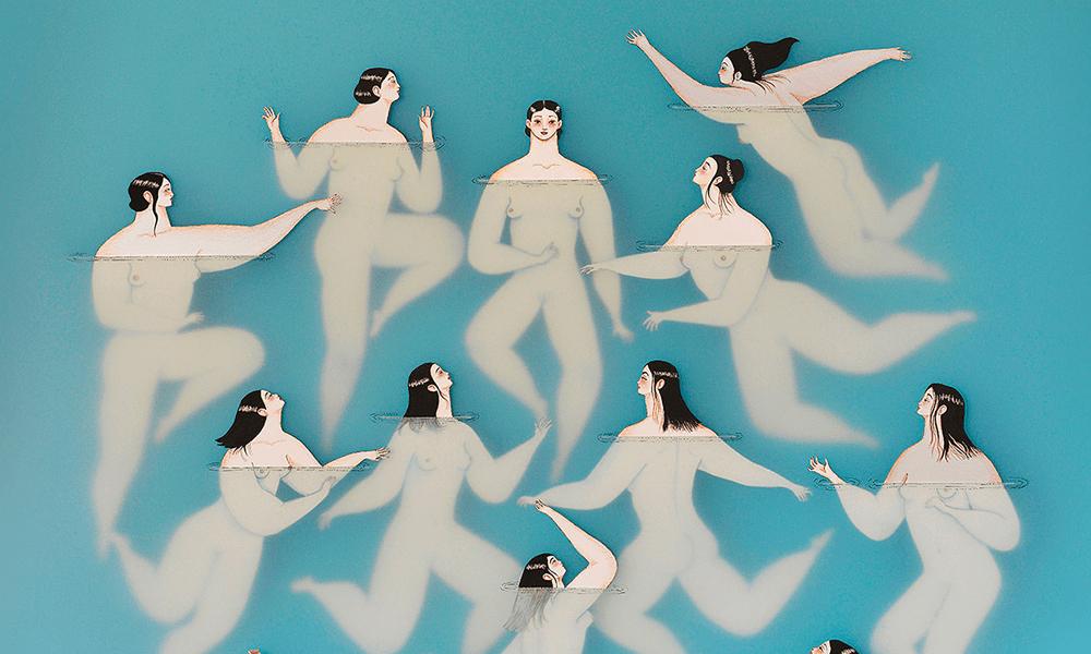 """Le affascinanti illustrazioni """"acquatiche"""" di Sonia Alins"""