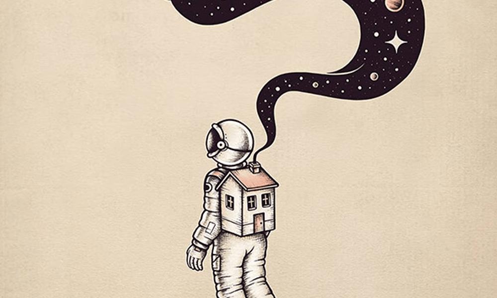 Le avventure cosmiche di un astronauta solitario: Enkel Dika