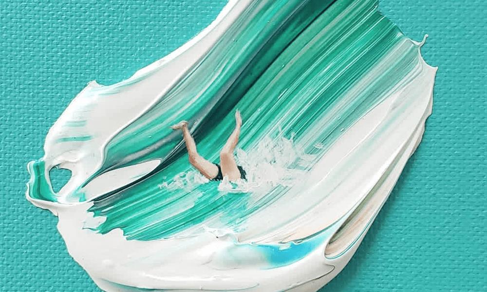 Tutto l'amore per il mare nelle miniature acquatiche di Taylor Cox