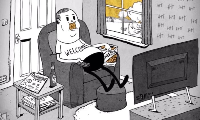 Il mondo rinasce mentre l'uomo è in quarantena: l'ultimo corto di Steve Cutts (dal triste finale)