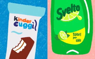 Le peggiori frasi da dire ai grafici diventano ironici packaging da supermercato