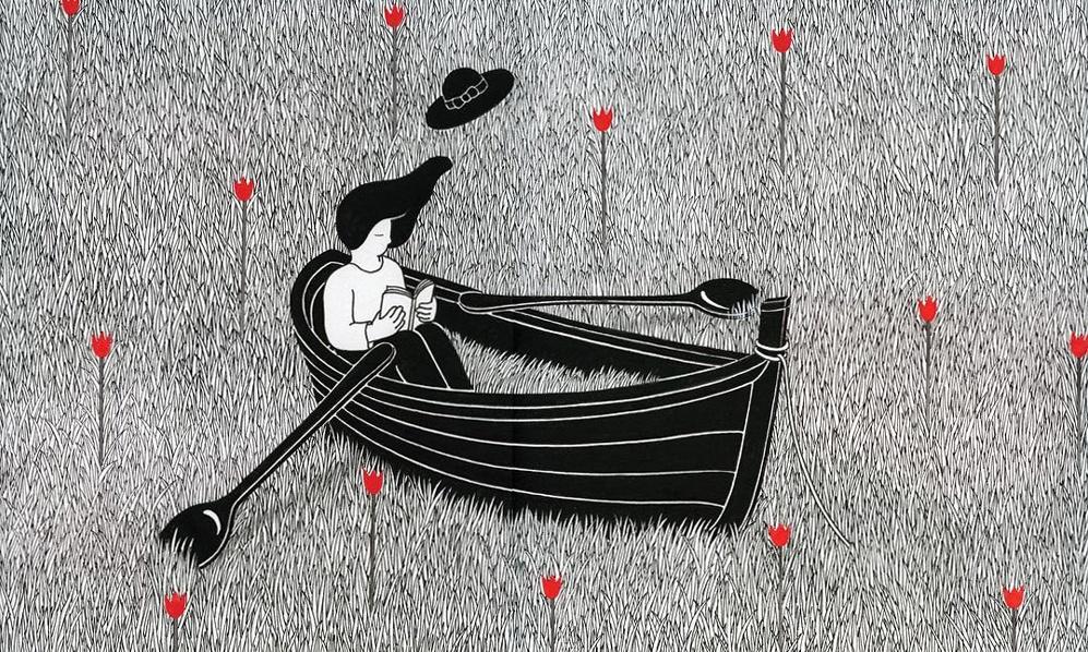 Illustrazioni in bilico tra sogno e realtà: Ryeou Won