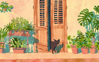 Illustrazioni che uniscono pittura, collage e digitale: intervista a Marina De Santis